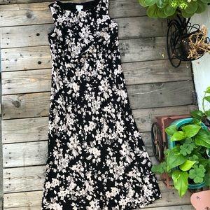 Loft floral long dress.